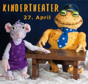Kindertheater: Kommissar Gordon - der erste Fall - Copyright Puppentheater Kolibri